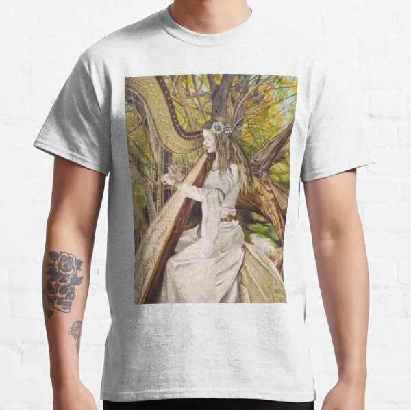 Harpist of the Valley Classic T-Shirt