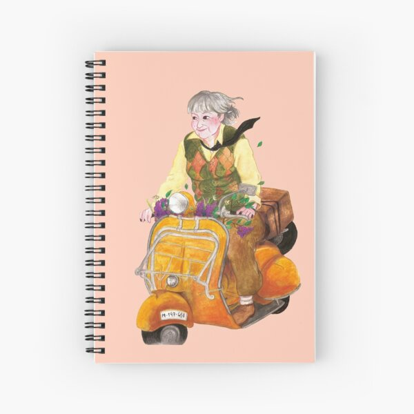 Poet Gloria Fuertes Spiral Notebook