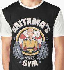 Saitama's Gym Graphic T-Shirt