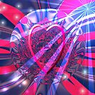 Radiant Love - Fractal by judygal