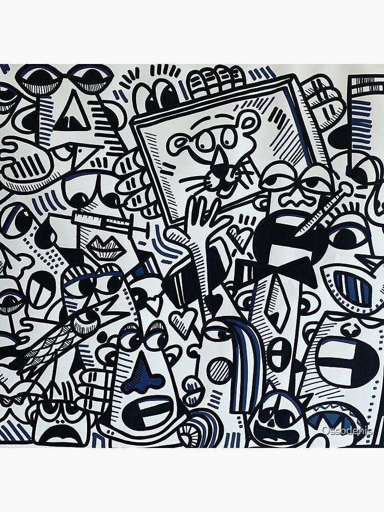 «Art peinture originale » par Ossodenis