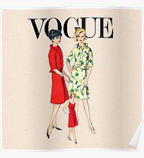 Vintage Patterns 3 Poster