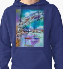 Cape Cod Traffic Jam Abstract Art Pullover Hoodie