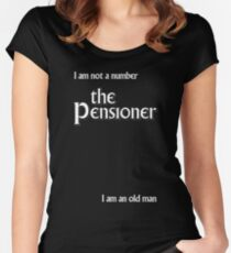 The Pensioner Women's Fitted Scoop T-Shirt