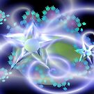 Crystal Star Flowers by judygal