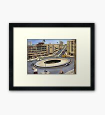 Sheffield's Hole in the Road Framed Print