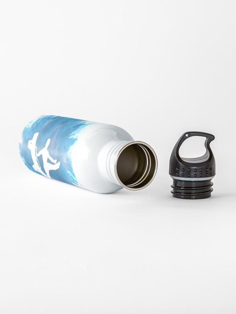Alternate view of Mens Gymnastics Explosion Blue Water Bottle