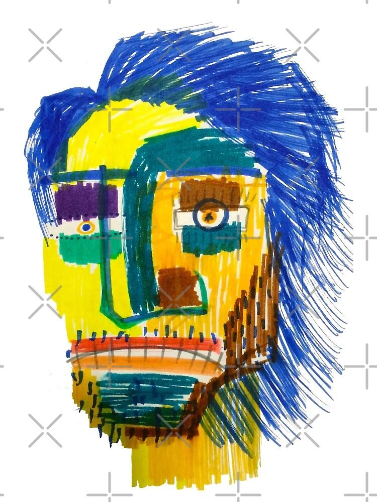 Marker Face by mijumi