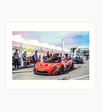 McLaren P1 GTR Art Print