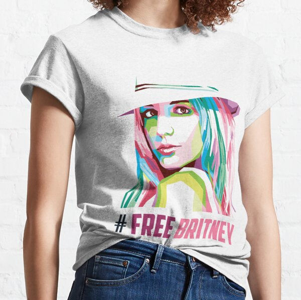Free Britney - Free Britney Support - Britney Fans Army Classic T-Shirt
