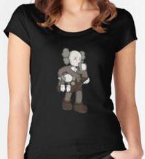 Damn Kids Women's Fitted Scoop T-Shirt
