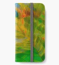 Abstract Palm Art tshirt iPhone Wallet/Case/Skin