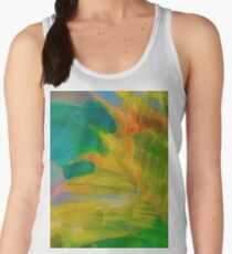 Abstract Palm Art tshirt Women's Tank Top