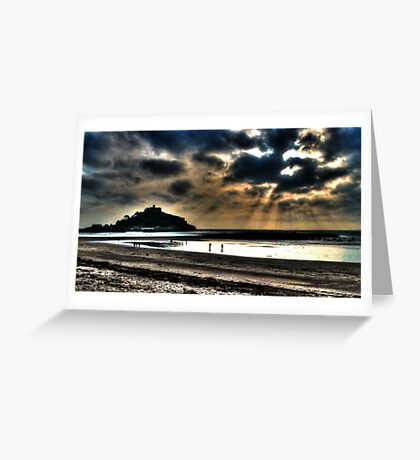 St. Michaels Mount  Greeting Card