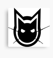 Graphics Cat Canvas Print
