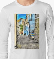 A back street in St. Ives Long Sleeve T-Shirt