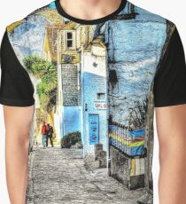 A back street in St. Ives Graphic T-Shirt