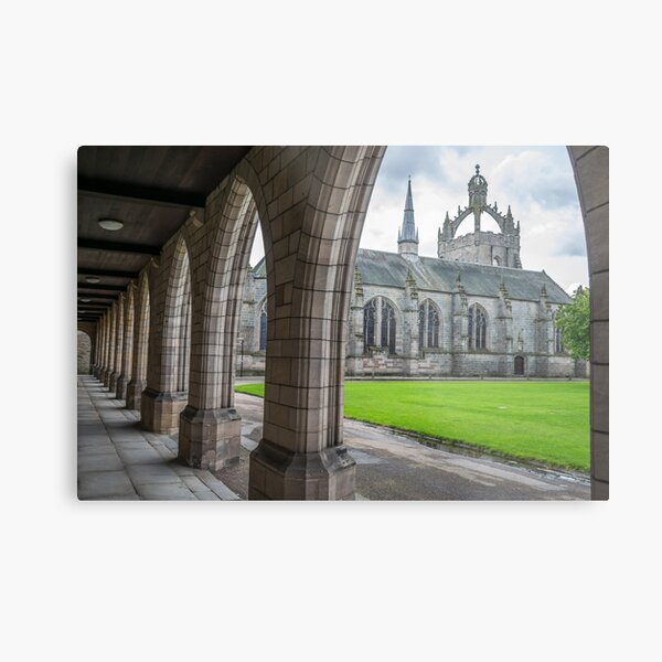 Aberdeen King's College view Metal Print