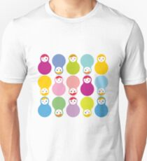 Colourful matryoshka Unisex T-Shirt