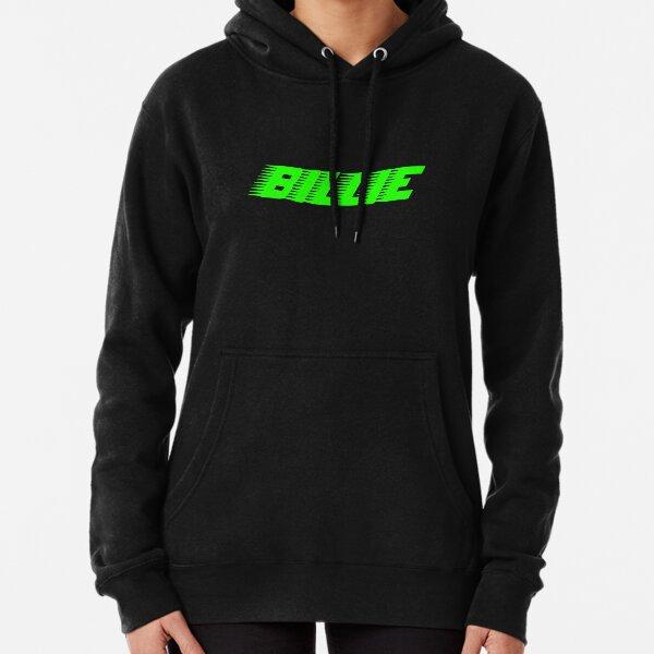 Verde Billie Eilish Racer Logo Oficial Sudadera con capucha