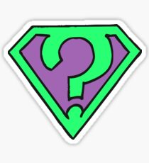 Riddle me this, riddle me that... (V1) Sticker
