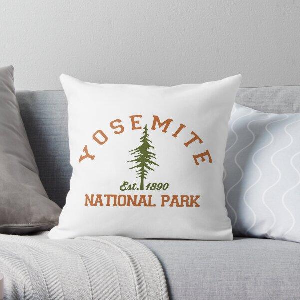 Yosemite National Park. Throw Pillow