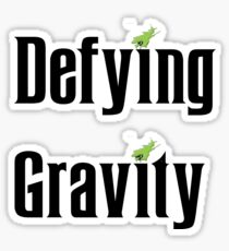 Wicked The Musical Defying Gravity Sticker