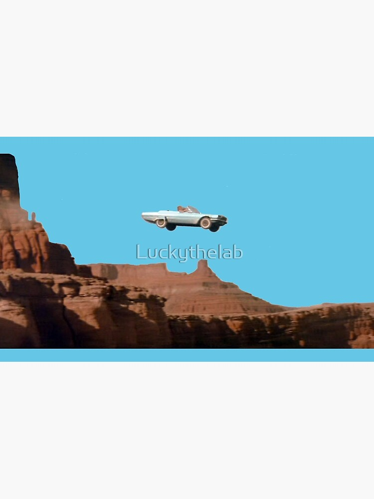 THELMA AND LOUISE CAR by Luckythelab