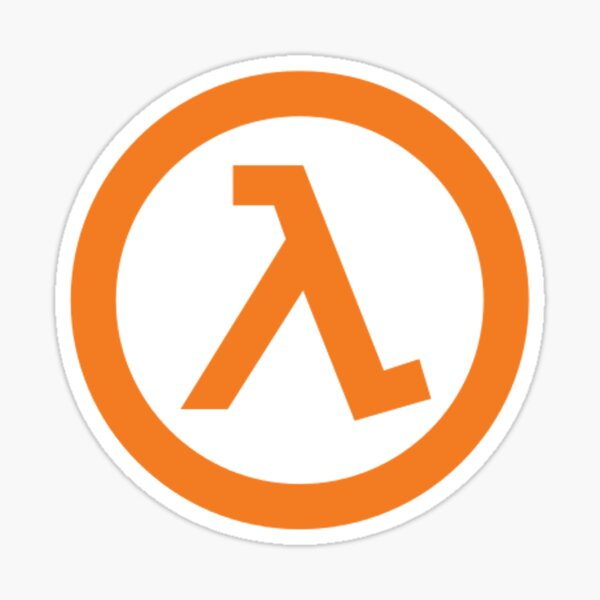 Half-Life Lambda Sticker