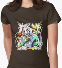 Undertale - Asriel Dreemurr Chibi Womens Fitted T-Shirt