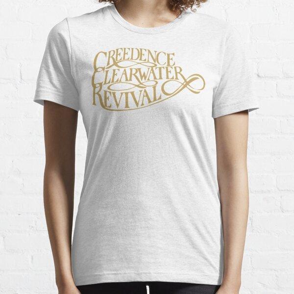 Camiseta básica Creedence Clearwater Revival Camiseta esencial