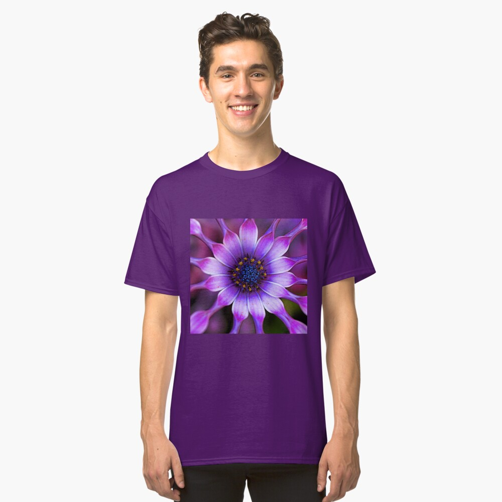 Soprano - Lilac Spoon African Daisy Classic T-Shirt Front