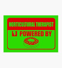 Horticulture therapist powered by Photographic Print