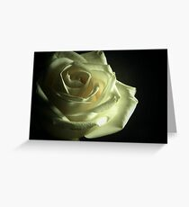 Simplistic Rose  Greeting Card
