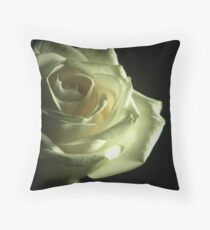 Simplistic Rose  Throw Pillow