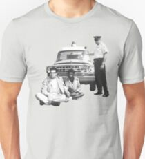 Bernie Sanders Civil Rights Protest 1963 Slim Fit T-Shirt