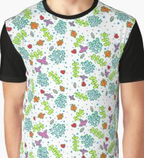 Nature pattern Graphic T-Shirt