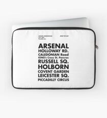 Piccadilly Line in Futura Laptop Sleeve