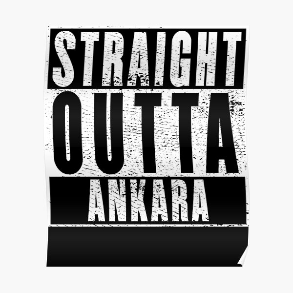Straight Outta Ankara Poster