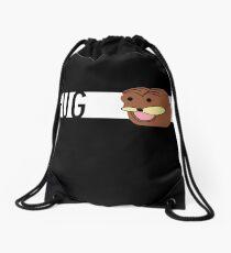 Futuristic Spurdo Fug Logo Drawstring Bag