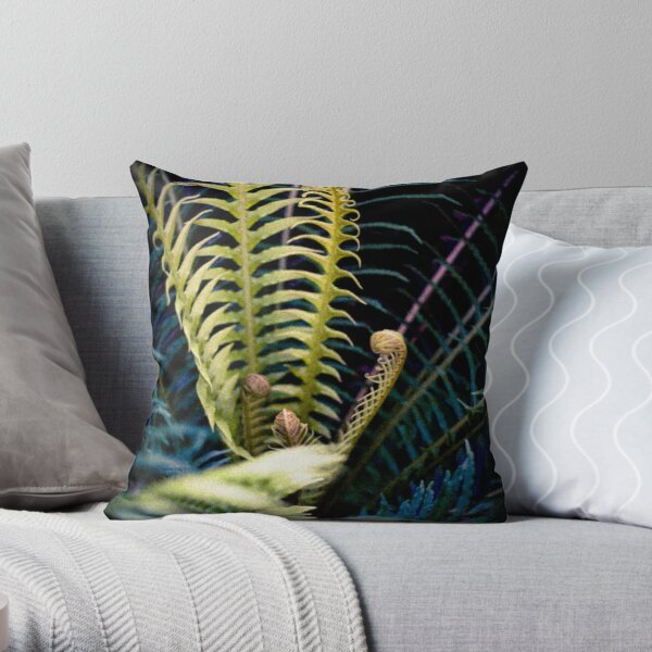 Tendrils Throw Pillow