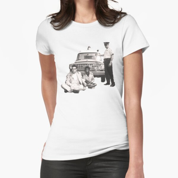 Bernie Sanders Civil Rights Protest 1963 tint Fitted T-Shirt