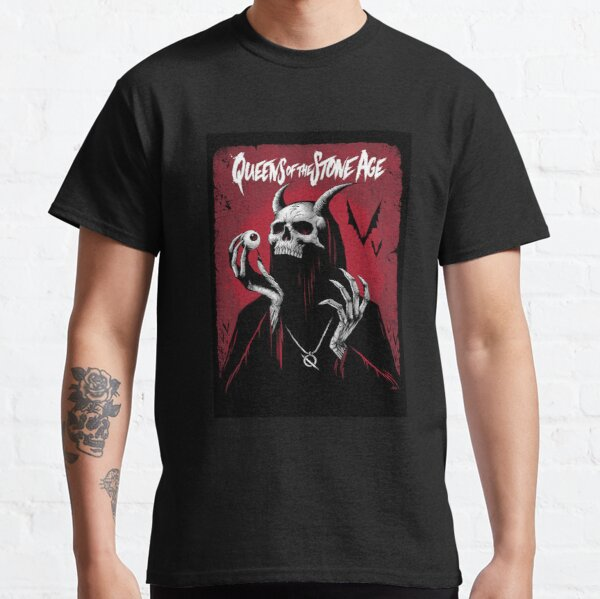 Queens of the stone age T-Shirts a song for the dead Poster qotsa Sticker Classic T-Shirt