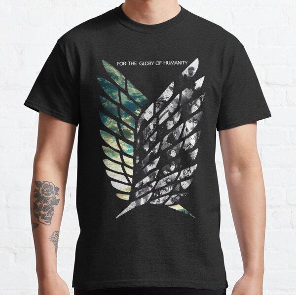 Ataque a los titanes Wings Of Freedom Camiseta clásica