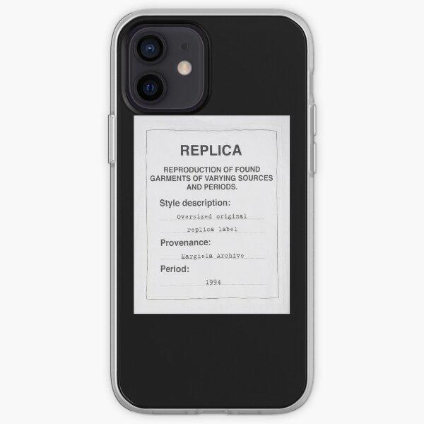 Margiela Replica Label iPhone Soft Case