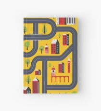 Urban landscape Hardcover Journal