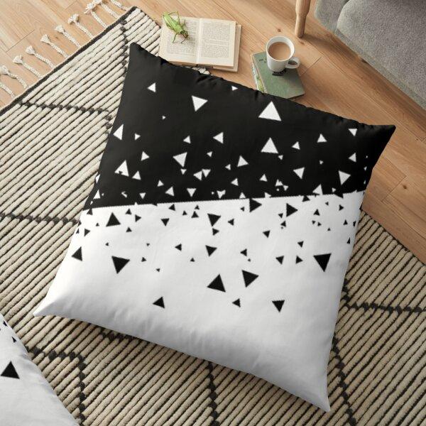 Black and white art modern  Floor Pillow