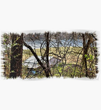 """""""A Sneak Peek of the Old Farm and the Tale Behind It""""... prints and products Poster"""