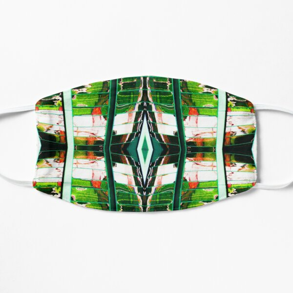 Red and Green Reflections Mask
