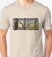 """A Sneak Peek of the Old Farm and the Tale Behind It""... prints and products T-Shirt"